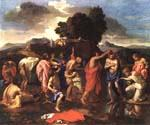 Sacrament of Baptism by  Nicolas Poussin (Painting ID: CM-1403-KA)
