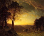 Sacramento River Valley by  Albert Bierstadt (Painting ID: LA-3393-KA)