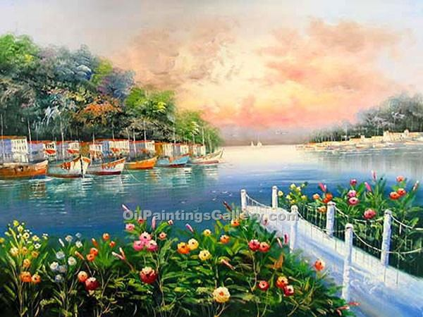 Buy Oil Painting Landscapes Online | Realism & Naturalism styles - Safe Harbour