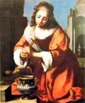 Saint Praxidis by  Jan Vermeer (Painting ID: CM-0969-KA)