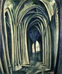 Saint Severin by  Robert Delaunay (Painting ID: AB-0229-KA)