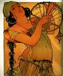 Salome 16 by  Alphonse Maria Mucha (Painting ID: CL-2016-KA)