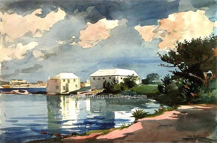 """Salt Kettle Bermud"" by  Winslow Homer"
