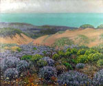 San Francisco Sand Dunes and Lake merced by  Theodore Wores (Painting ID: LA-2874-KA)