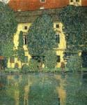 Schloss Kammer on the Attersee by  Gustav Klimt (Painting ID: KL-1021-KA)