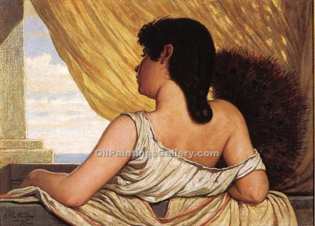 """Sea Breeze"" by  Elihu Vedder"