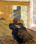 Seated Woman Dressed in Black by  Edouard Vuillard (Painting ID: AB-0747-KA)