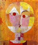 Senecio by  Paul Klee (Painting ID: AB-0401-KA)
