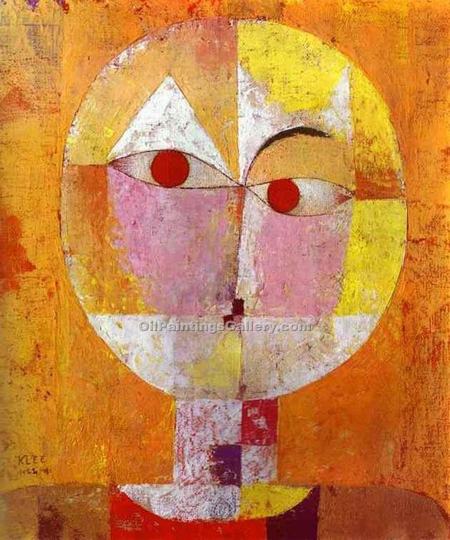 """Senecio"" by  Paul Klee"
