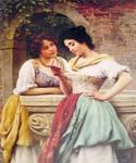 Shared Correspondance by  Eugene de Blaas (Painting ID: EI-0546-KA)