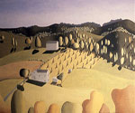 Sheaves of Corn by  Grant Wood (Painting ID: LA-2836-KA)