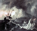 Ships Running Aground in a Storm by  Ludolf Backhuysen (Painting ID: LA-0481-KA)