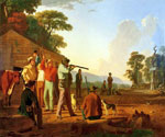 Shooting for the Beef by  George Caleb Bingham (Painting ID: ED-0569-KA)
