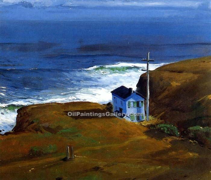 """Shore House 27"" by  George Bellows"