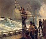 Signal of Distress   by  Winslow Homer (Painting ID: LA-1869-KA)