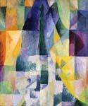 Simultaneous Windows by  Robert Delaunay (Painting ID: AG-0225-KA)