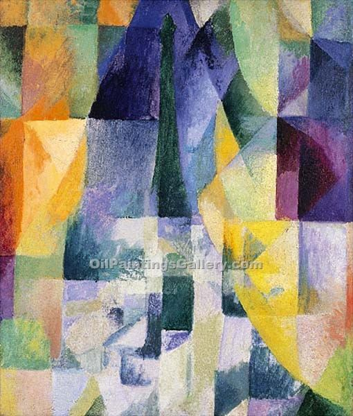 """Simultaneous Windows"" by  Robert Delaunay"