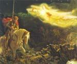 Sir Galahad 62 by  Arthur Hughes (Painting ID: CL-2062-KA)