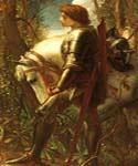 Sir Galahad 79 by  George Watts (Painting ID: CM-1379-KA)