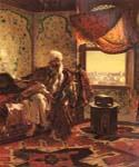 Smoking the Hookah by  Rudolf Ernst (Painting ID: ER-0122-KA)