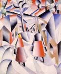 Snowstorm by  Kasimir Malevich (Painting ID: AB-9187-KA)