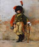 Soldier 82 by  Francois Flameng (Painting ID: CL-0782-KA)