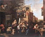 Soliciting Votes by  William Hogarth (Painting ID: CM-3054-KA)