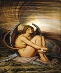 Soul in Bondage by  Elihu Vedder (Painting ID: CL-0880-KA)