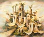 Souring City by  Dan Livni (Painting ID: AD-0313-KA)