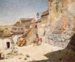 Spanish Village 68 by  William Merritt Chase (Painting ID: ED-1468-KA)