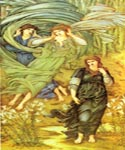 Sponsa de Libano by  Edward Burne Jones (Painting ID: CL-7016-KA)