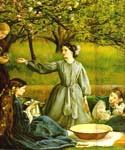 Spring (detail 1) by  John Everett Millais (Painting ID: CM-0731-KA)