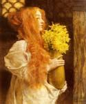 Spring Flowers 63 by  Sir Lawrence Alma Tadema (Painting ID: EI-1263-KA)