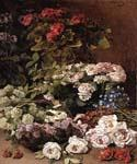 Spring Flowers 92 by  Claude Monet (Painting ID: SL-0092-KA)