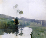 Twachtman Oil Paintings