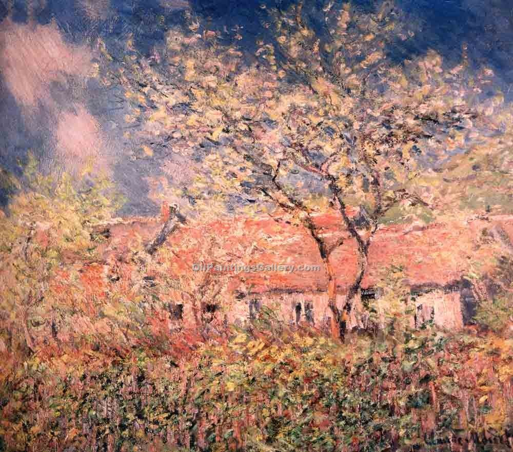 """Springtime at Giverny"" by  Claude Monet"