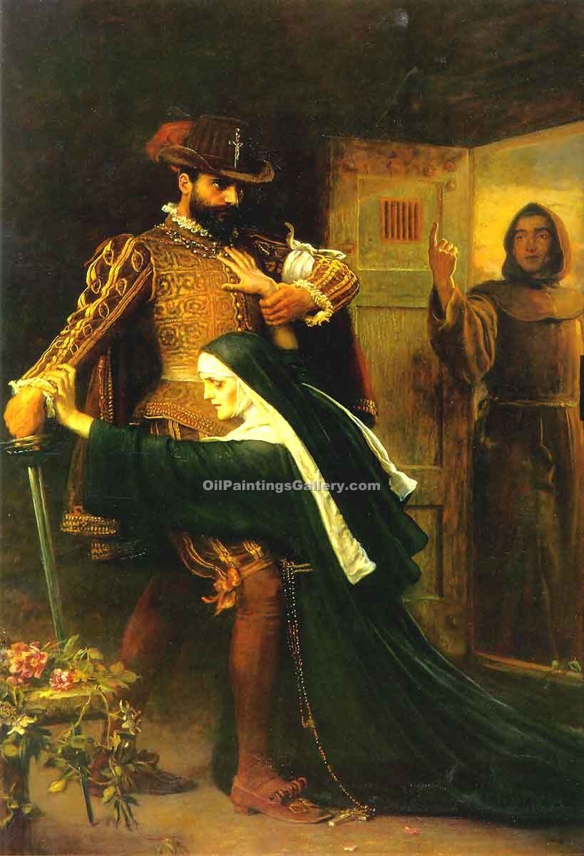 """St Bartholemew s Day"" by  John Everett Millais"