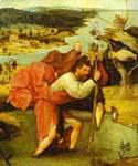 St. Christopher Carrying the Christ Child by  Hieronymus Bosch (Painting ID: DA-7204-KA)
