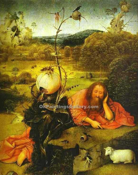 St. John the Baptist 05 by HieronymusBosch | Abstract Acrylic Paintings - Oil Paintings Gallery