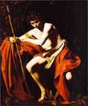 St. John the Baptist 48 by    Caravaggio (Painting ID: CM-0648-KA)