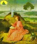 St. John the Evangelist of Patmos by  Hieronymus Bosch (Painting ID: DA-7206-KA)