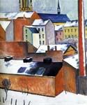 St. Mary by  August Macke (Painting ID: AL-0312-KA)