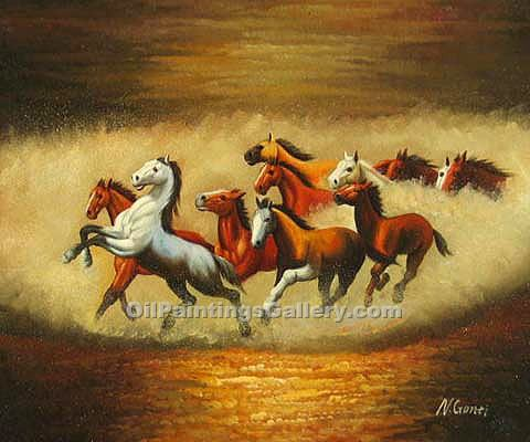 Buy Horse or Hunting Oil Painting Online | Realism & Naturalism styles