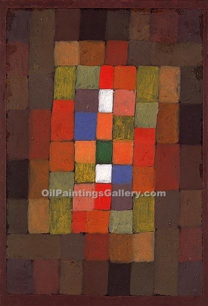 """Static-Dynamic Gradation"" by  Paul Klee"