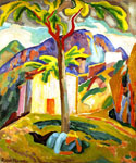 Ste Agnes, South of France by  Roger Eliot Fry (Painting ID: LA-2682-KA)