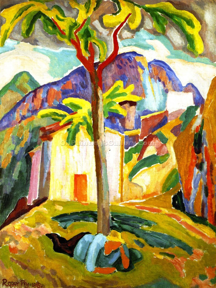 """Ste Agnes, South of France"" by  Roger Eliot Fry"