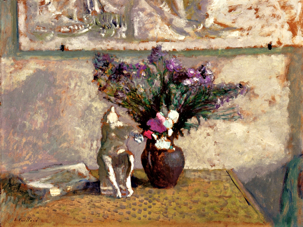 """Still LIfe with Leda"" by  Edouard Vuillard"