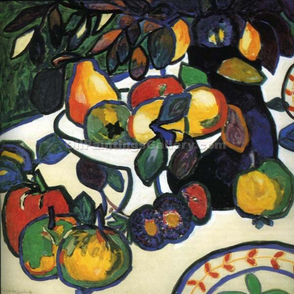 Still Life 38 by Kasimir Malevich | Oil Painting Landscapes - Oil Paintings Gallery
