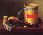 Still Life 6 by  William Michael Harnett (Painting ID: GA-0456-KA)