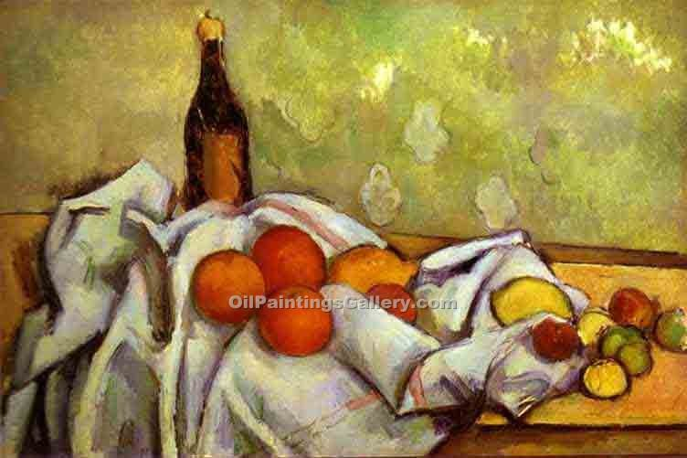Still Life 8 by PaulCezanne | World Paintings Gallery - Oil Paintings Gallery